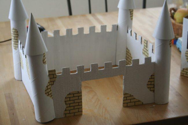 Замок крепость своими руками 161