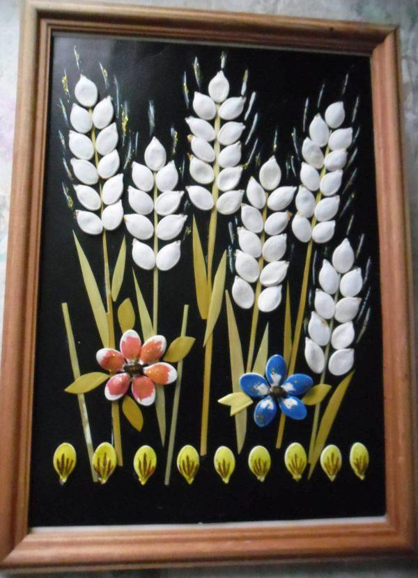Поделки из семян тыквы своими руками фото